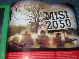Misi 2050 Dewan Kosmik