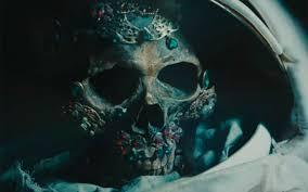 David Bowie Skull