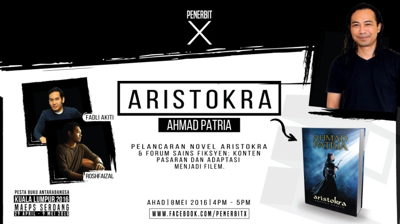 Poster PTS 8 Mei - Aristokra