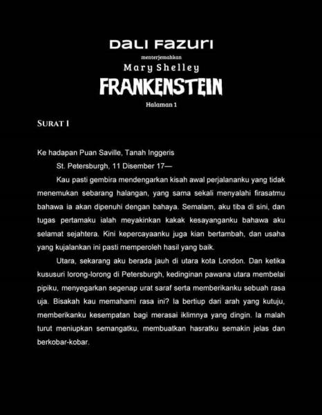 Frankestein Halaman 1